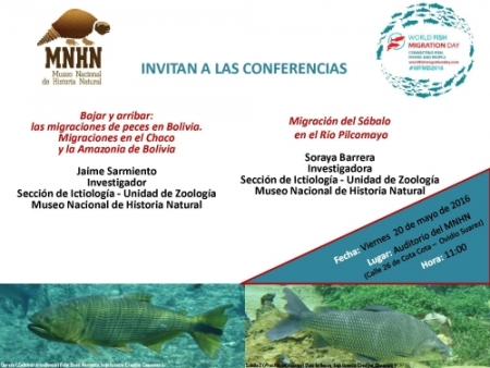 INVITACIÓN A CONFERENCIAS EN EL MNHN